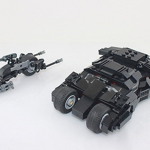 Lego MOC Custom Build DC Batman Bat Tumbler / Batpod Bat-pod Dark Knight