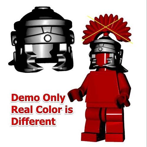 Custom Black Roman Legionnaire Helmet Castle Gladiator Ancient Warrior fig King