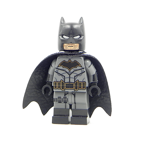 High quality fine Pad Print Batman Reborn Lego Custom minifigure Justice
