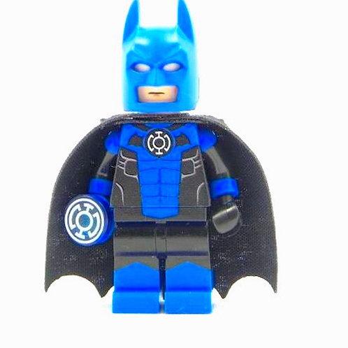 Blue Lantern Batman - All Lego part CUSTOM print MINIFIGURE Flash DC Arrow Leg