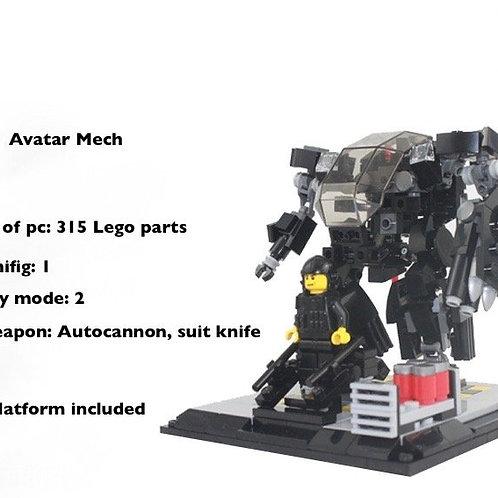 Lego MOC AVATAR AMP Suit Amplified Mobility Platform Mobile Suit Mech Pandora