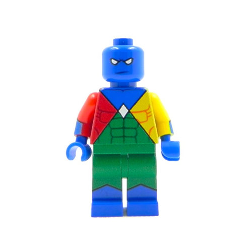 Custom Doctor Spectrum - Iron Man minifigure Lego custom Squadron Sinister Earth