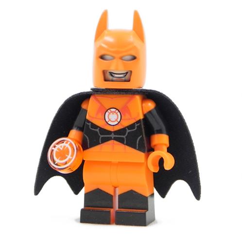 copy of Batman Indigo Tribe Purple Lantern Lego Custom minifigure Staff cape DC