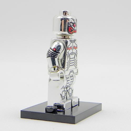 Chrome Ultron minifigure - All Lego part MINI FIGURE - Avengers age of Ultron