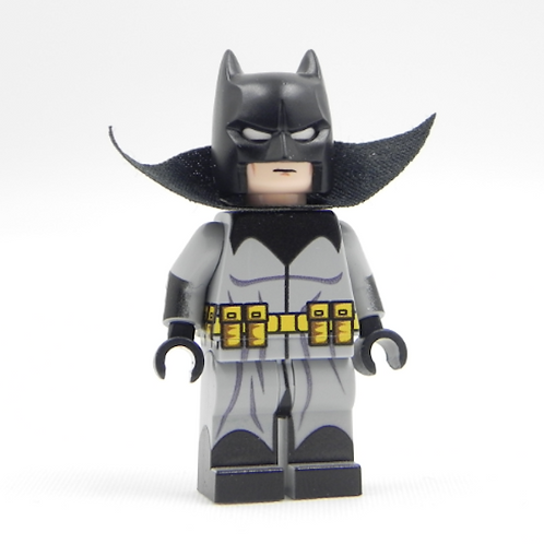 Batman Damian Wayne Lego Superhero Custom minifigure LEGO light grey DC Justice
