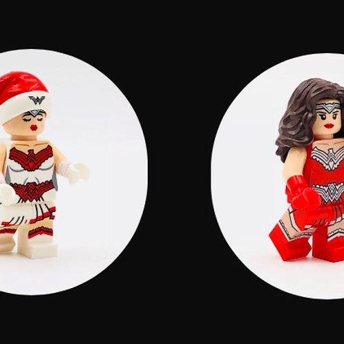 UG minifigure Wonder Woman Christmas edition