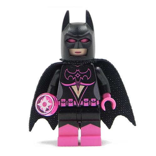 Batwoman Star Sapphire - Batman Purple Lantern brik Custom minifigure DC Justice