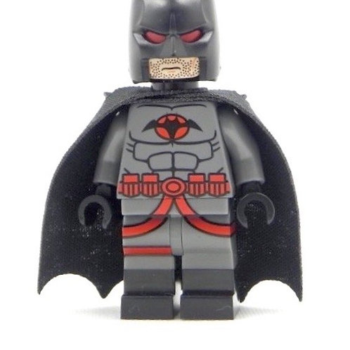 Pad Print Custom Lego minifig -Limited 200 Dr Thomas Alfred Wayne Batman