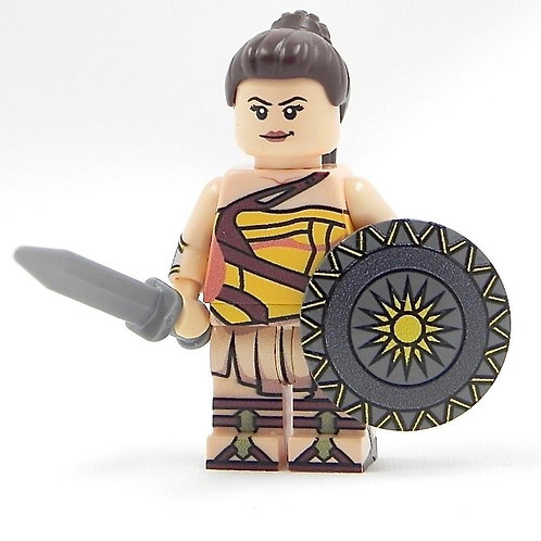 Wonder Woman training Lego Custom print minifigure Diana Prince Amazon princess