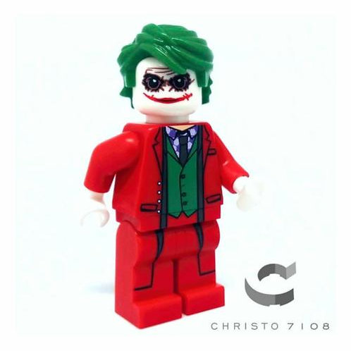 Christo Custom Joker in Red Suit