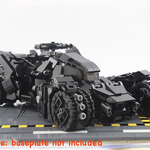 MOC Lego ARKHAM KNIGHT BATMAN BATMOBILE TRANSFORMABLE VEHICLE TANK CA