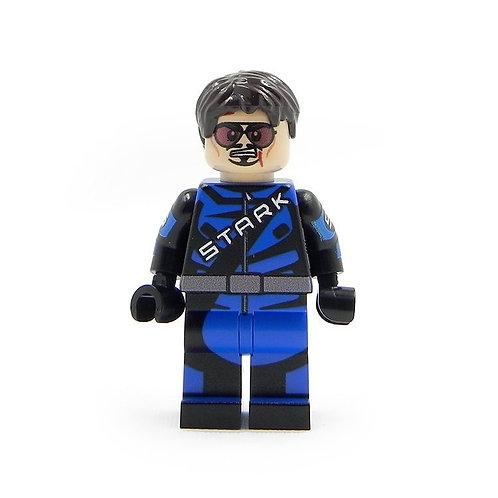 Custom Tony Stark Iron Man 2 Race Car F1 Speed minifigure Lego champion Whiplash