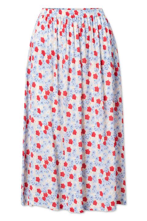Nué Notes Doma Skirt Blue Cashmere
