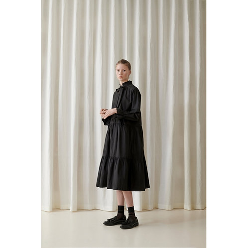 Skall Studio Holly Shirtdress Black