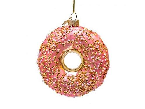 Vondels Glass Orange Donut