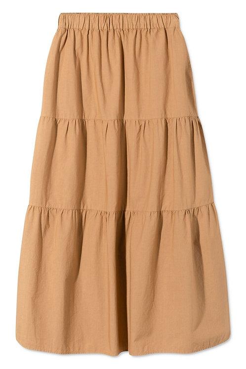 Rue De Tokyo Paprika Light Brown Skirt