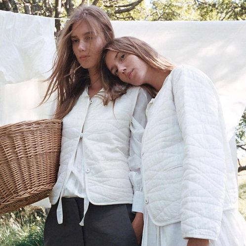 Skall Studio Emma Vest Off White