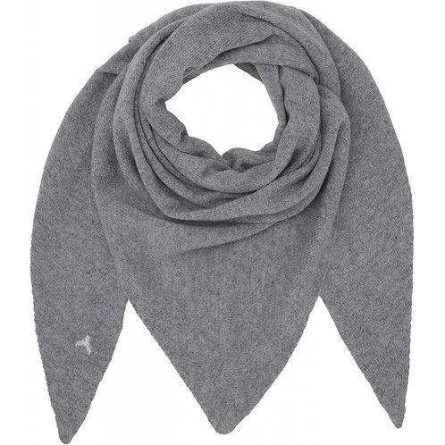 Beta Studio Triangle Cashmere Tørklæde Grey Melange