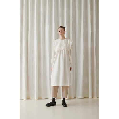 Skall Studio Holly Dress Light Cream