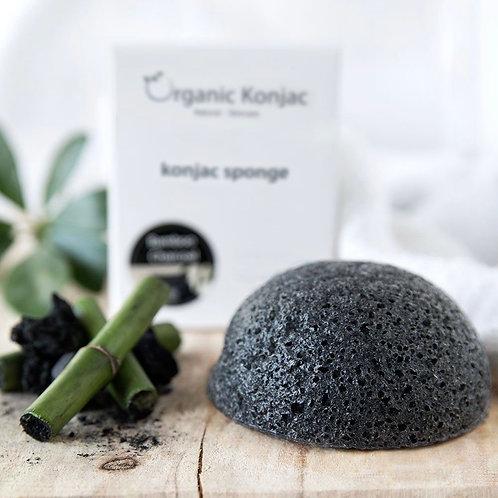 Organic Konjac Louise Nørgaard Bamboo Charcoal