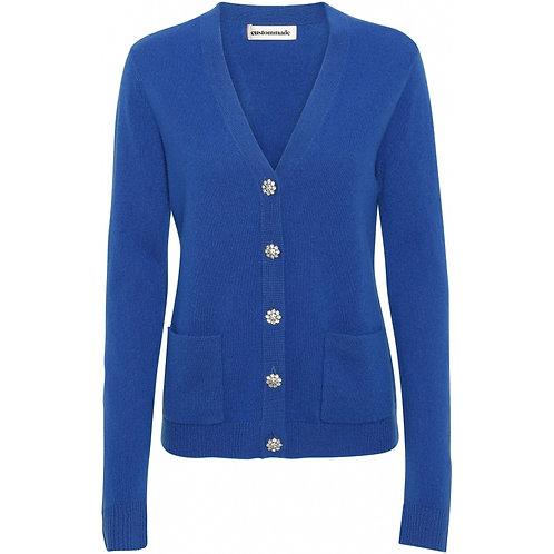 Custommade Aisha Vallarta Blue Cardigan