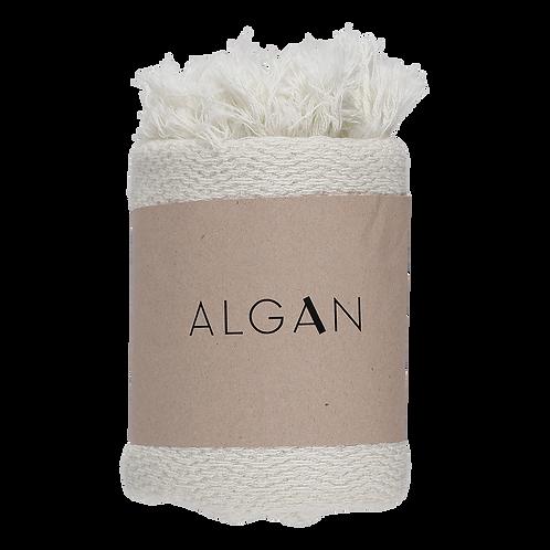 Algan Nane Gæstehåndklæde Råhvid