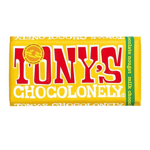Tony's Chocolonely Milk Chocolate Nougat
