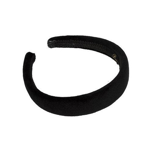 Pico Dahlia Plain Headband Black