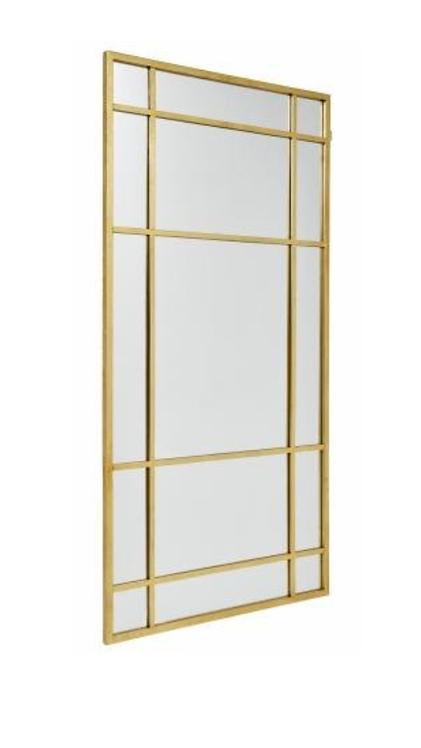 NORDAL Spirit Iron Wall Mirror, Gold