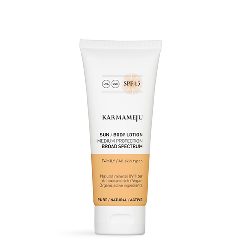 Karmameju  SUN  Body Lotion SPF15