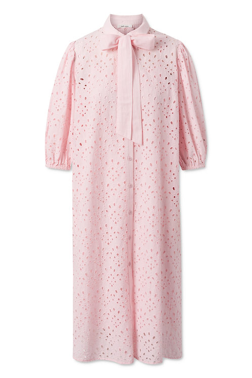Nué Notes Thea Dress Barely Pink