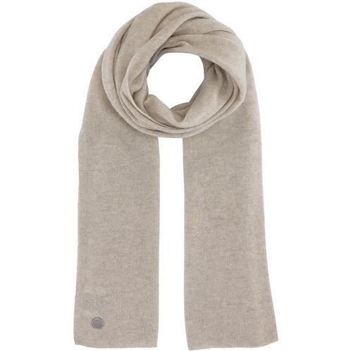 Beta Studio Sand Melange Cashmere Tørklæde