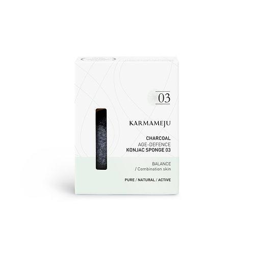 Karmameju Konjac Sponge Charcoal 03