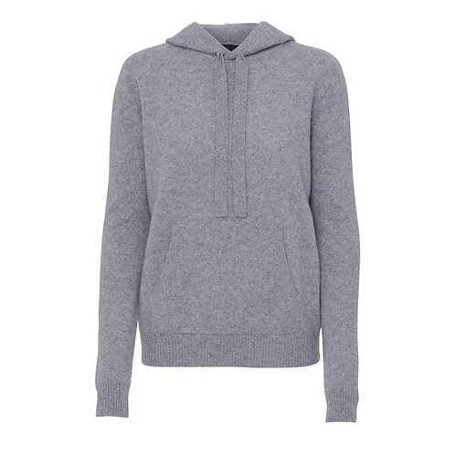 Beta Studio Grey Tattoo Hoodie Cashmere