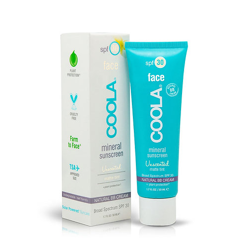 COOLA Mineral Sunscreen Tinted Spf30