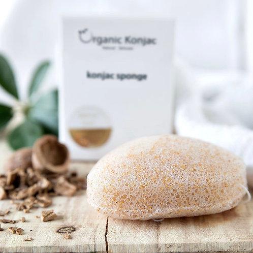 Organic Konjac Louise Nørgaard Walnut Shell