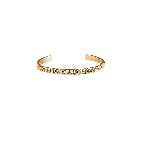 Plissé Copenhagen Chain Bangle