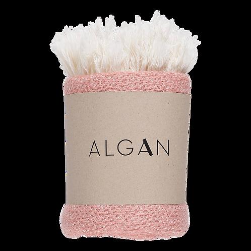 Algan Nane Gæstehåndklæde Gammelrosa