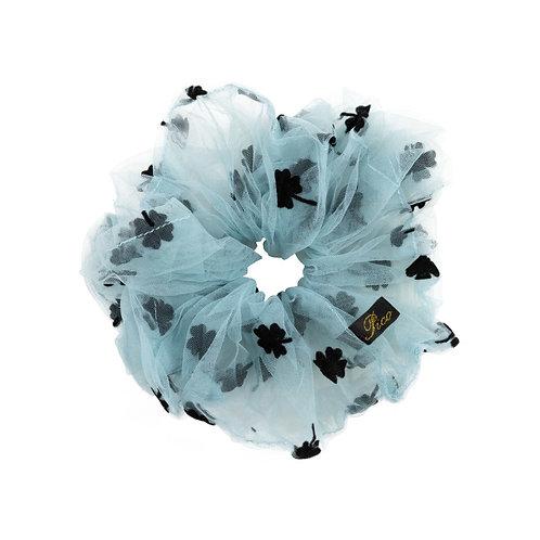 Pico Clover Scrunchie Dusty Blue