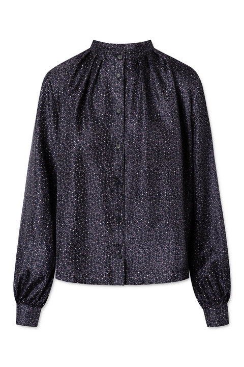 Nué Notes Aline Silk Shirt Total