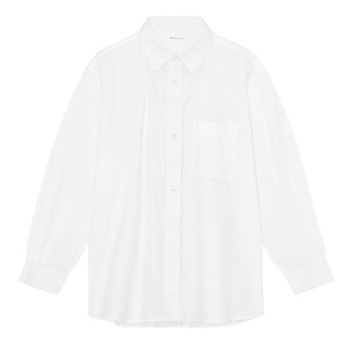 Skall Studio Edgar Shirt Optic White