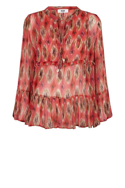 Moliin Iben Shirt Calypso Coral