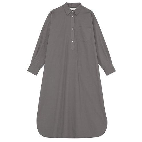 Skall Studio Edgar Shirtdress Dark Grey