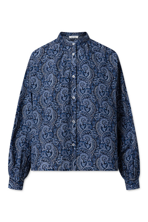 Nué Notes Aline Shirt Total Eclipse Paisley