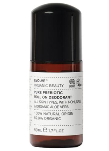 Evolve Beauty Pure Prebiotic Roll on Deodorant
