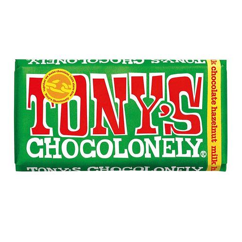 Tony's Chocolonely Milk Chocolate Hazelnut