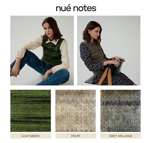 Nué Notes Khloé Waistcoat Grey Melange