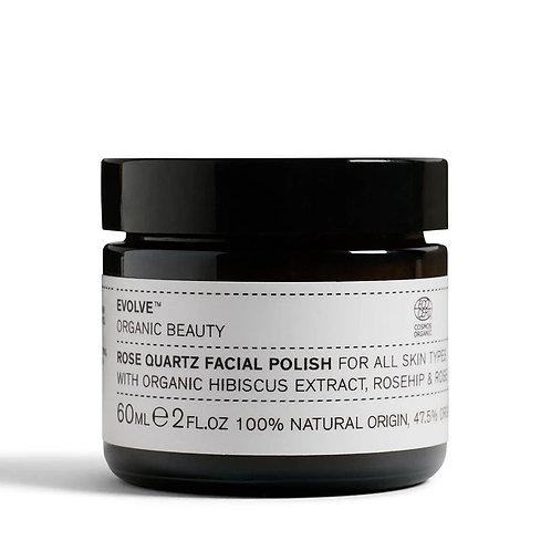 Evolve Beauty Rose Quartz Face Polish