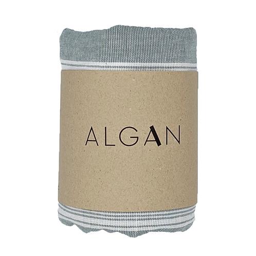 Algan Sade musegrå Tyndt Hamamhåndklæde