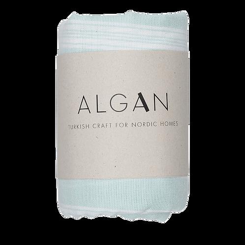 Algan Sade Mint Tyndt Hamamhåndklæde